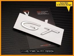 Porsche Carrera GT Bagaj Yazı Logo Amblem