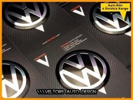 VW Logo Amblem Jant Göbeği  Göbek Kapak Logo Amblem Seti