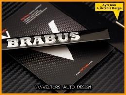 Mercedes Brabus Ön Izgara Logo Amblem