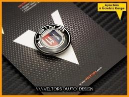 BMW Alpina Multi Medya iDrive Kontrol Unite Logo Amblem