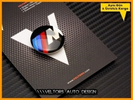 BMW M Multi Medya iDrive Kontrol Unite Logo Amblem