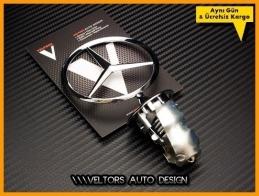 Mercedes Ön Kaput Yıldız Logo Amblem
